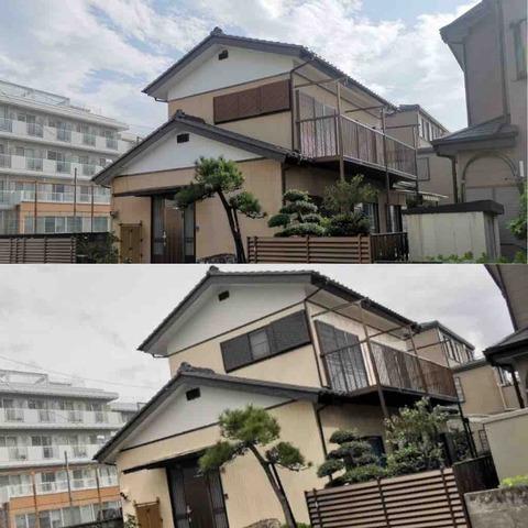 平塚市A様邸|外壁塗装