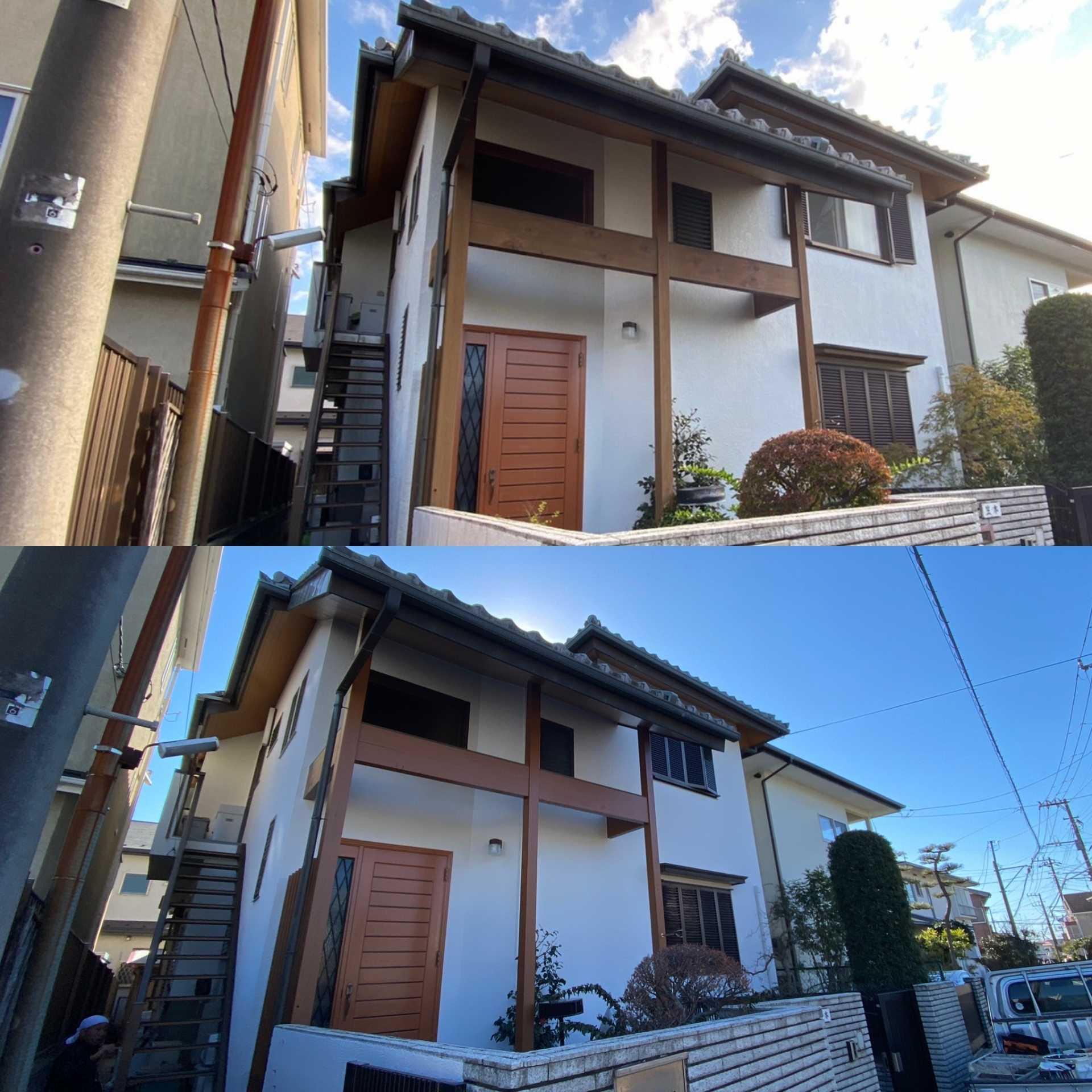 藤沢市K様邸 外壁塗装